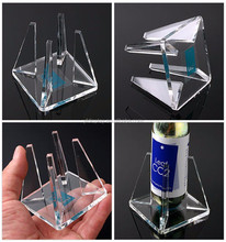 New Wave Pure Acrylic Bottle Display Holder
