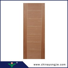 2015 China wholesale decorative interior wood veneer MDF door skin price