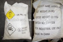 Real factory of sodium nitrite white fine crystal