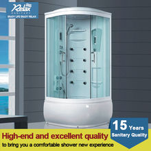 2014 hot sale simple shower cabin with tempered glass from China