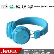 Wholesale Bluetooth Headphone Stereo Cordless Bluetooth Headset with SD Card Slot