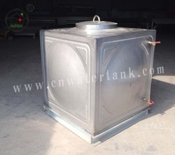 1 CBM family using stainless steel water tank with CE&ISO