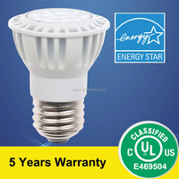 Energy Star PAR16 Lamp 7.5W 3000K 40D