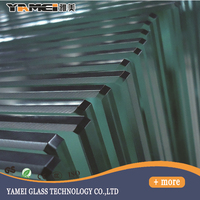 Made in China 10mm thick toughened glass /12mm thick toughened glass