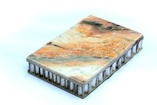 stone aluminum honeycomb panel interior wall construction materials