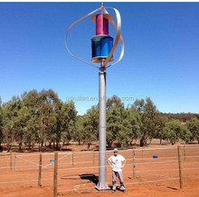 2015 Lowest Vertical Wind Turbine System permanent magnetic generator home and office use 3000w wind generator