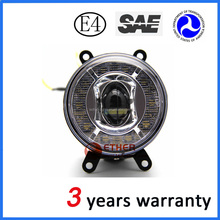 3.55 inch car fog light for toyota hiac, toyota corolla altis, camry with daytime running light meet DOT SAE ECE standard