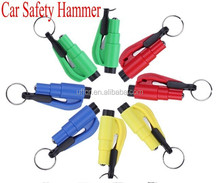 Car Safety Hammer Mini Hammer /Window/Break Safety Lifesaving Hammer 3 in 1 A Gift For Life
