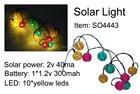 Solar led jardim luz cordas solar luz para decoração