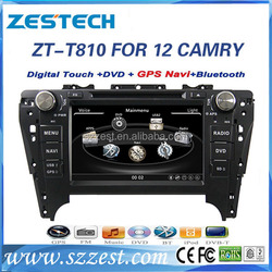 ZESTECH DVD Autoradio with GPS Navigation ISDB-T for Toyota Camry 2012