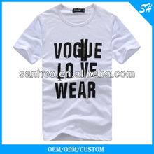 Simple Style Designer T Shirts With Printing Pattern Breathable Anti-Pilling All Sizes Various Color
