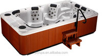 Good sales hot tub spa with two pop-up speakers cheap hot tub