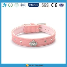 Crown dog collar 2015 New Products Puppy Dog Cat Crystal Royal Crown Collar for Pet Dog Puppy Size XS S M L