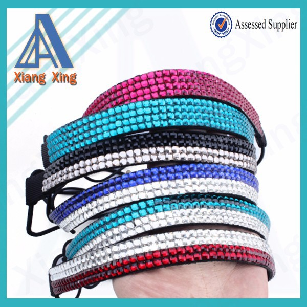 Wholesale fashion jewelry of bling rhinestone headband for Wholesale cowgirl bling jewelry