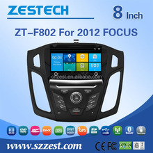 multimedia player for Ford focus 2012 touch screen car dvd with DVB-T bluetooth