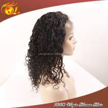 Top quality human hair brazilian hair ombre lace front wig