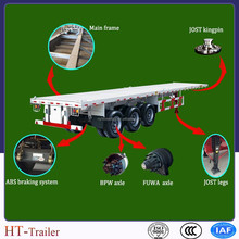 20ft 40ft container trailer truck trailer for sale