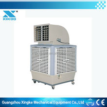 free standing air conditioners with evaporative cooling system design
