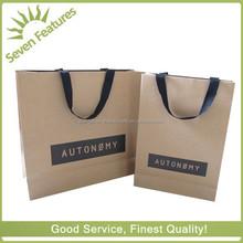Environmental Friendly/Recyclable/Shopping/Brown Kraft Paper Bag