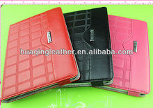 ultra thin PU leather case for ipad mini smart cover with stand new arrivel