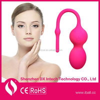 wireless app support bluetooth link silicon kegel exercise ball sex toy for women