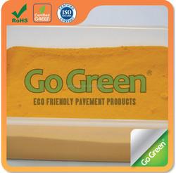 Color pigment for colored asphalt iron oxide pigment inorganic pigment