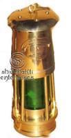 Marine Brass Oil Lamp , Nautical Brass Lantern
