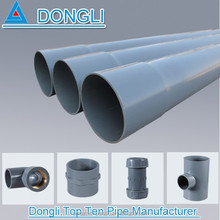 Factory price pvc plastic water supply large diameter pvc pipe