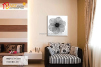 New Oriental Style Black and White Flower Home Wall Decoration