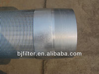 well screen/water well screen filter/low carbon galvanized water well screen