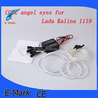 super bright ccfl car angle eyes light for lada kalina 1119