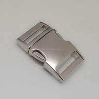 """1"""" inch metal buckle,high quality metal buckle with side release buckle for dag leash & collars"""