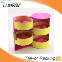 Custom Fascinating Beautify Uv Printing Lip Balm Display Boxes