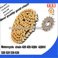 hot sale motorcycle chain and sprocket kits,chain sprocket chain reaction motorcycles,transmission kit wholesale motorcycle chai
