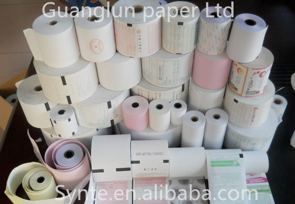 colorful thermal paper