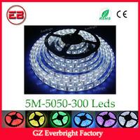 High quality led strip light 5M 300 led strip 5050 led strip lights for cars