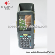 IP65 Rugged Portable rfid 125khz reader with rs232 ICC connector