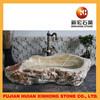 unique design hand carved marble stone basin