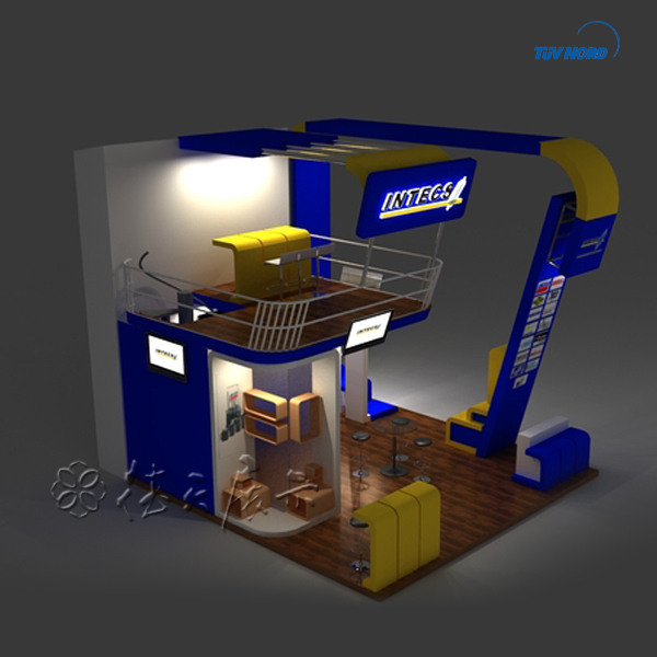Exhibition Stand Double Decker : Double deck exhibition stand booth