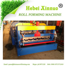 XN-1020 single sheet roof sheet roll forming machine Glazed roof tile making machine Glazed metal roofing sheet machines