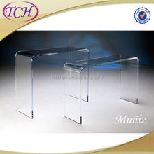 Hot-Selling High Quality Low Price fine leg acrylic coffee table