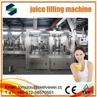 Perfect Design For 3 In 1 Automatic Juice Filling Equipment automatic 3 in1 juce filling machine
