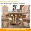 Newstar round marble table top for restaurant