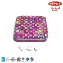 Fruit flavor colorful soda tablet candy