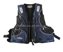 nice looking fishing vest for lifesaving