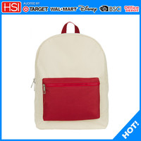 2015 new products double color backpack laptop bags