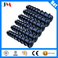 Paper Making Industrial Impact Steel Balls Coated Rubber Spiral Roller