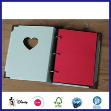 Biodegrade Paper Wedding Romantic PVC Sheets Photo Album