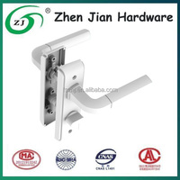 High quality Zinc alloy mortise lever handle lock for french door, made in China