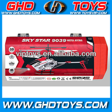 3.5ch 3 channel wireless gyro 3 channel rc metal helicopter